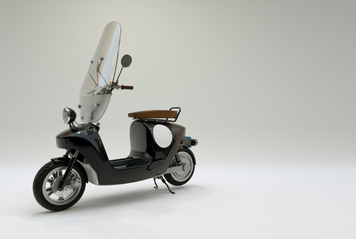 hennep scooter van eko be.e