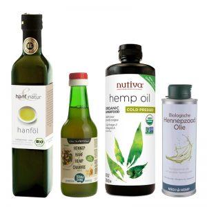 biologische hennepzaad olie