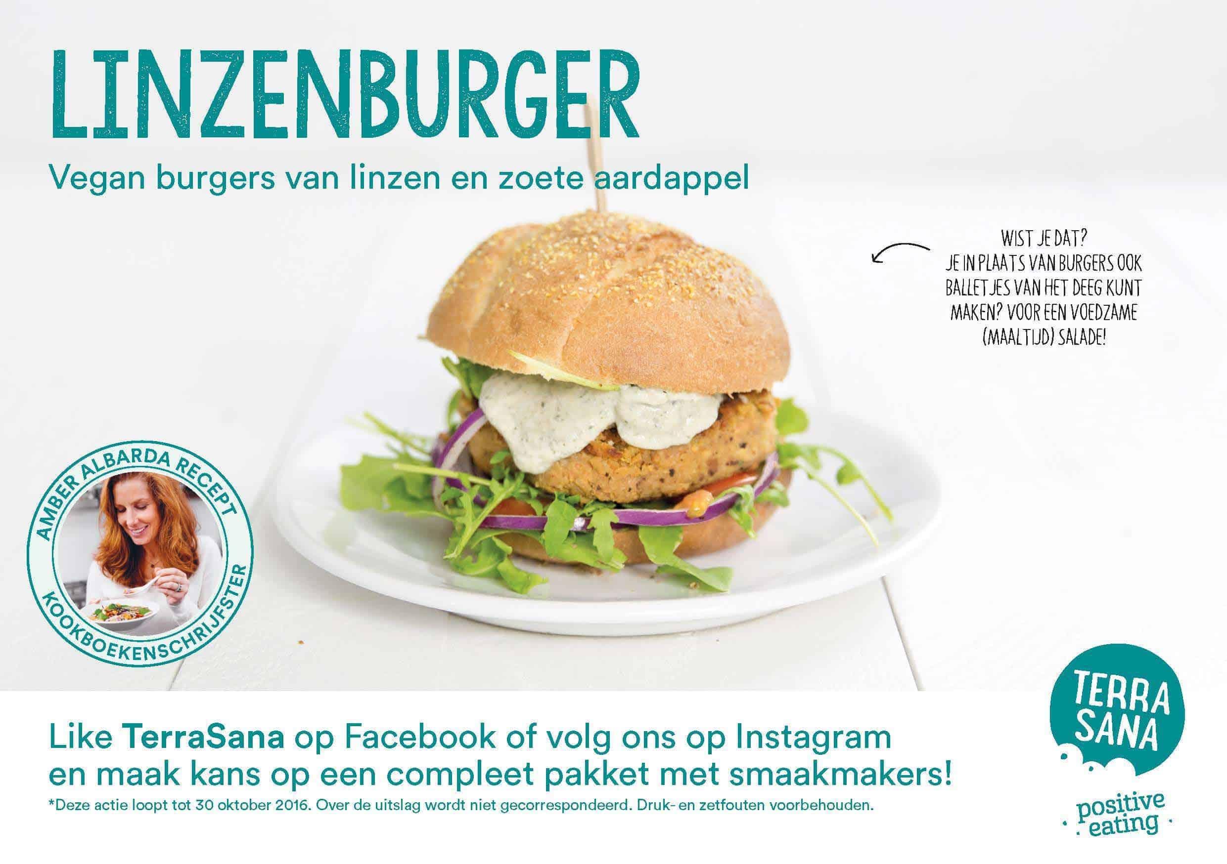 receptkaart linzenburger met hennepzaad amber albarda